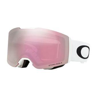 Masque de ski FALL LINE matte white/prizm snow hi pink iridium
