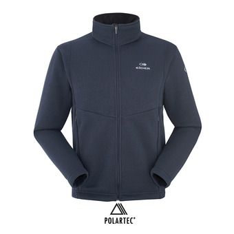 Polaire zippée homme MISSION dark night