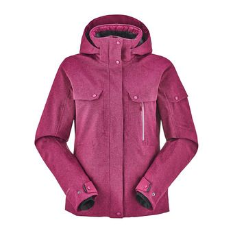 Veste de ski femme COLE VALLEY galactic purple