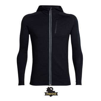 Icebreaker QUANTUM - Sweat Homme black