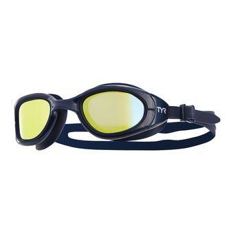 Tyr SPECIAL OPS 2.0 - Gafas de natación polarizadas gold/navy/navy