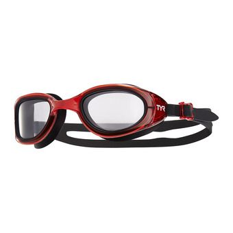 Tyr SPECIAL OPS 2.0 TRANSITION - Lunettes de natation photochromiques clear/red/black