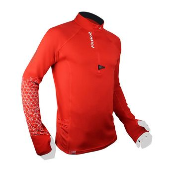 Maillot ML homme WINTERTRAIL rouge