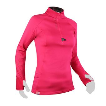 Raidlight WINTERTRAIL - Camiseta mujer raspberry