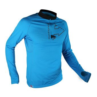 Maillot 1/2 zip ML homme PERFORMER electric blue/black
