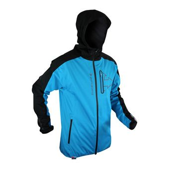 Chaqueta hombre RAIDSHELL electric blue/black