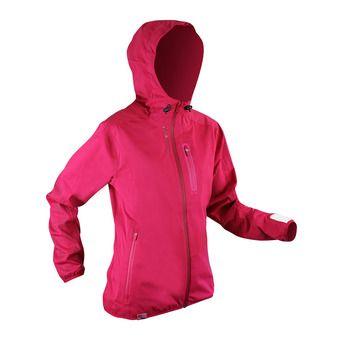 Veste à capuche femme RAIDSHELL raspberry