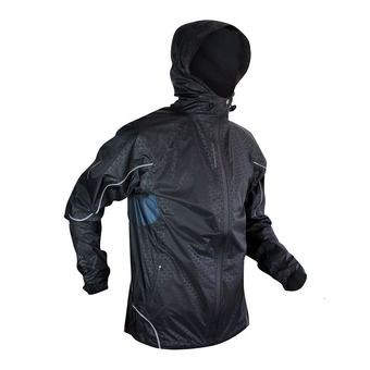 Veste à capuche homme TOP EXTREME MP+ black