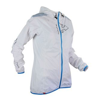 Chaqueta mujer HYPER LIGHT MP+ white/electric blue