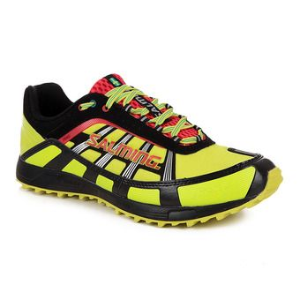 Zapatillas running/trail hombre TRAIL T2 amarillo/negro