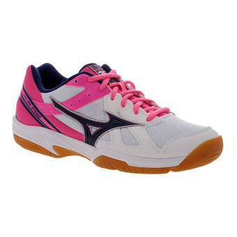 Chaussures indoor femme CYCLNE SPEED white/blueprint/pink glo