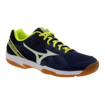 Chaussures indoor homme CYCLNE SPEED white/yellow