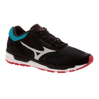 Chaussures de running homme SYNCHRO MX 2 black/silver/tile blue