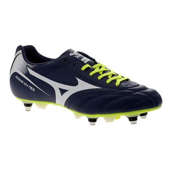 Botas de fútbol/rugby hombre MONARCIDA NEO MX blue depths/white/safety yellow