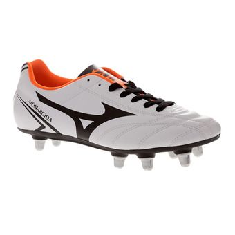 Botas de rugby hombre MONARCIDA RUGBY SI white/black/orange cfish