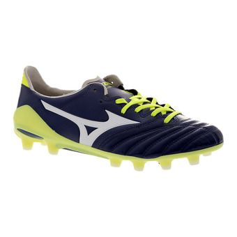 Botas de fútbol/rugby hombre MORELIA NEO II MD blueprint/white/safety yellow