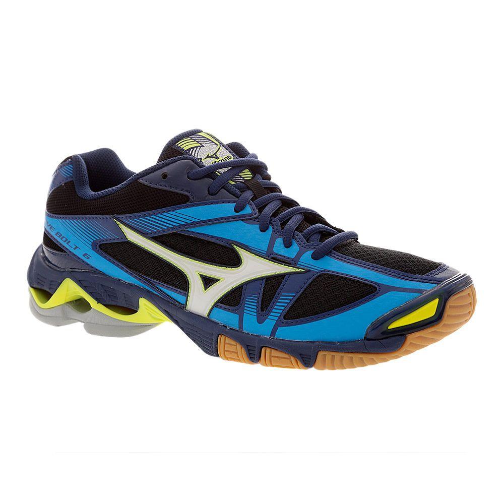 Bolt 6 Homme Chaussures Wave Depths Volley Blackwhiteblue Mizuno PvNnwOm0y8