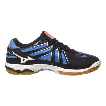 Chaussures indoor homme WAVE HURRICANE 3 black/white/fiery coral