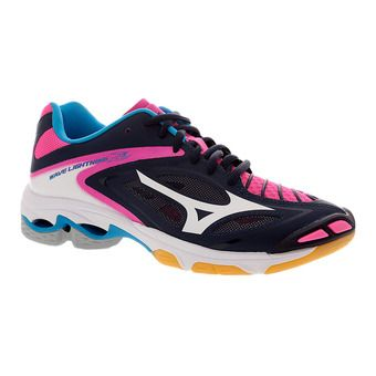 Chaussures indoor femme WAVE LIGHTNING Z3 peacoat/white/pink glo