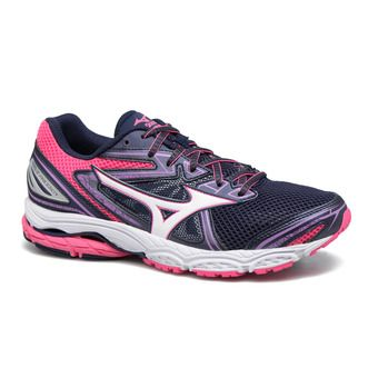 Chaussures de running femme WAVE PRODIGY peacoat/white/pink glo