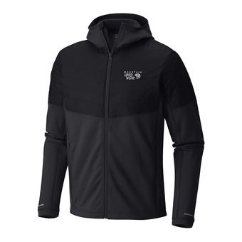 Mountain Hardwear 32 DEGREE - Sweat Homme black