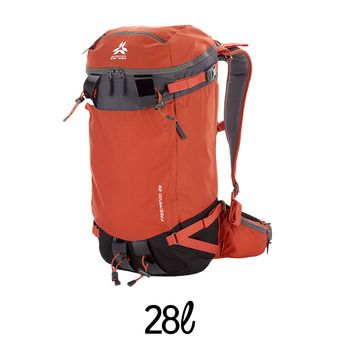 Mochila 28L FREERANDO V2 rojo