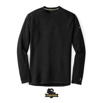 Men's Merino 250 Baselayer Crew HOMME BLACK