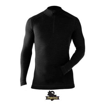 Camiseta térmica hombre MERINO 250 black