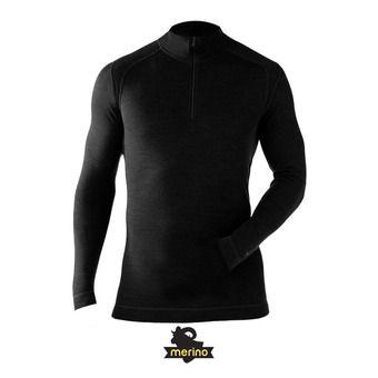 Sous-couche 1/4 zip homme MERINO 250 black