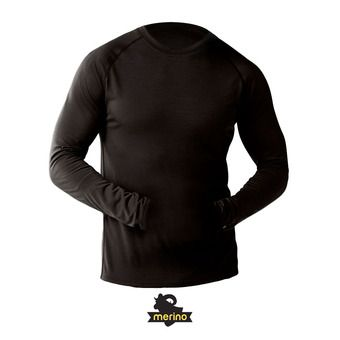 Men's Merino 150 Baselayer Long Sleeve HOMME BLACK