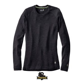 Sous-couche ML femme MERINO 250 CREW charcoal heather