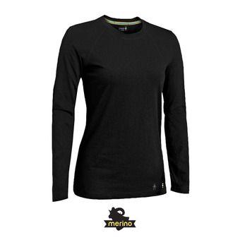 Camiseta térmica mujer MERINO 150 black
