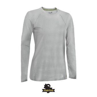 Camiseta térmica mujer MERINO 150 PATTERN pebble gray