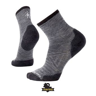 Smartwool PHD RUN COLD WEATHER CREW - Chaussettes medium gray