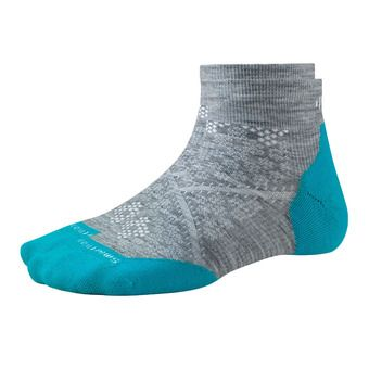 Socks - Women's - PHD RUN LIGHT ELITE LOW light grey/capri