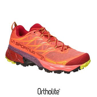 Zapatillas de trail mujer AKYRA berry