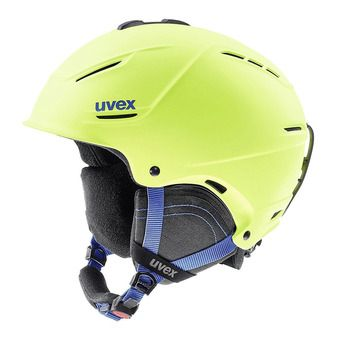 Casque de ski P1US 2.0 lime mat