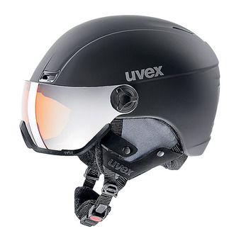 Casque de ski + visière HLMT 400 black mat