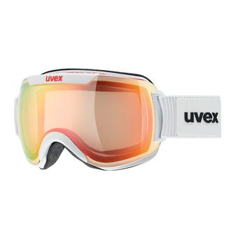 Gafas de esquí DOWNHILL 2000 VFM white/mirror red variomatic® clear