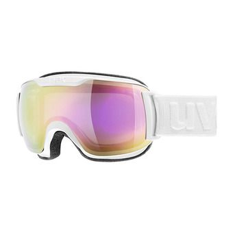 Gafas de esquí DOWNHILL SMALL 2000 FM white/mirror pink clear