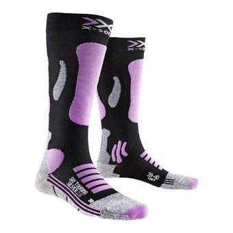 Ski Socks - Women's - TOURING 2.0 black/pink