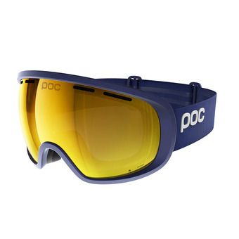 Poc FOVEA CLARITY - Masque ski basketane blue/spektris orange