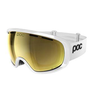Poc FOVEA CLARITY - Masque ski hydrogen white/spektris gold