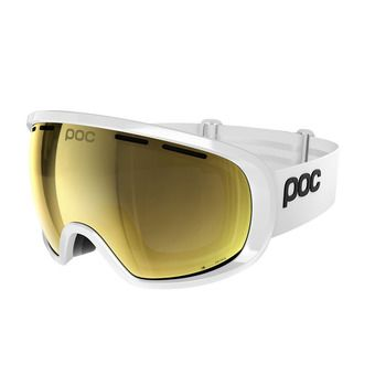 Poc FOVEA CLARITY - Ski Goggles - hydrogen white/spektris gold