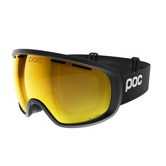 Poc FOVEA CLARITY - Masque ski uranium black/spektris orange
