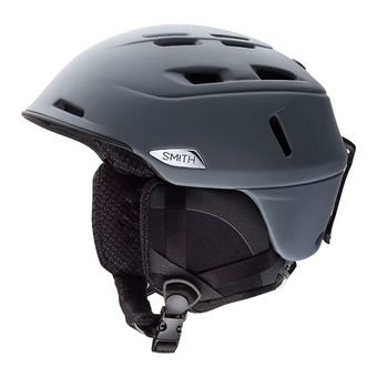 Smith CAMBER - Casque ski matte charcoal