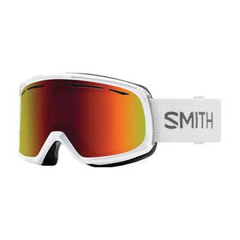 Masque de ski femme DRIFT white / red sol-x mirror