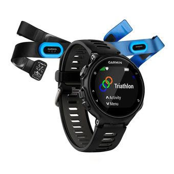 Garmin FORERUNNER 735XT - Watch - black/grey