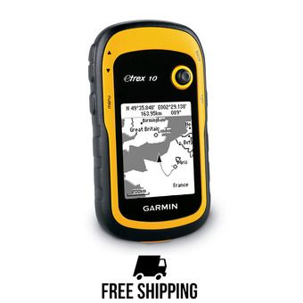 GPS eTrex 10 jaune/noir