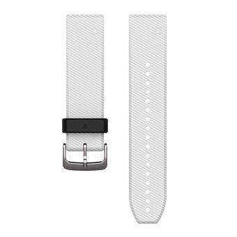 Bracelet silicone QUICKFIT 22mm blanc
